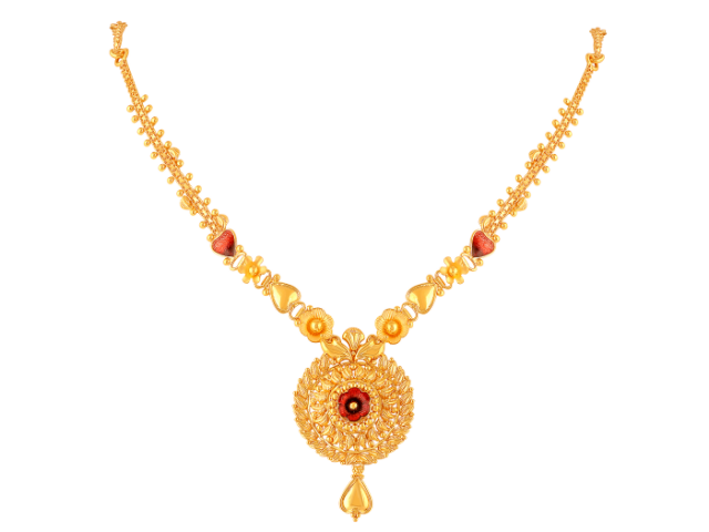 16 Gram Gold Necklace Collections7
