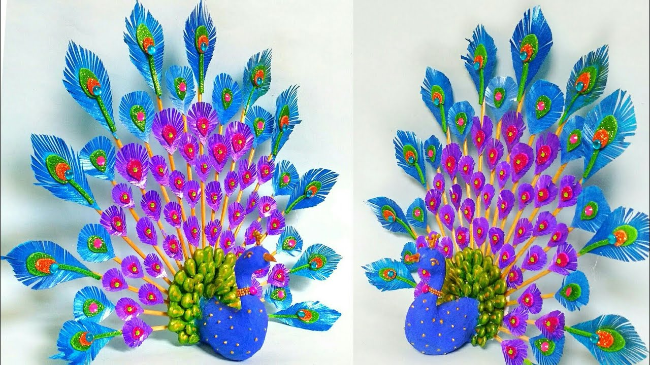 3D Peacock Wall Hanging1