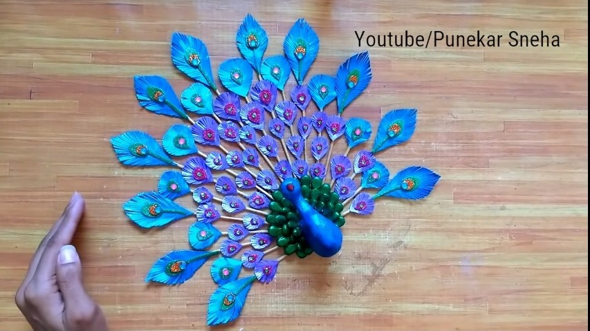 3D Peacock Wall Hanging21