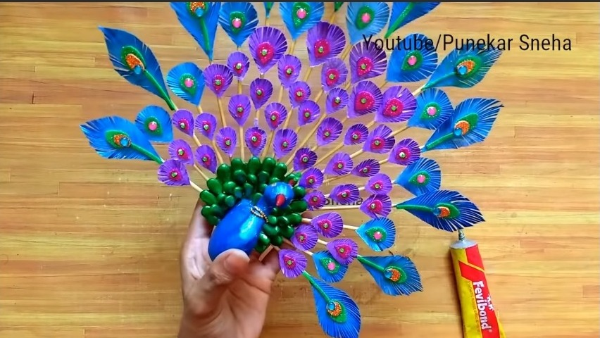 3D Peacock Wall Hanging22