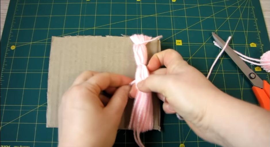 Amazing Woolen Door Hanging Toran Making1