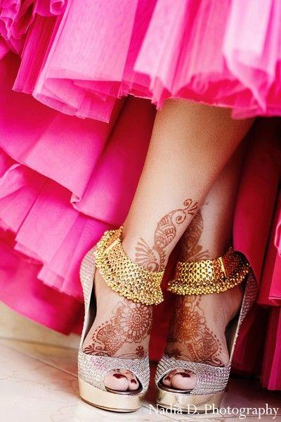 Bridal Gold Anklet Designs5