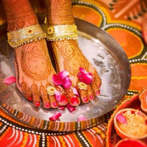 Bridal Gold Anklet Designs8