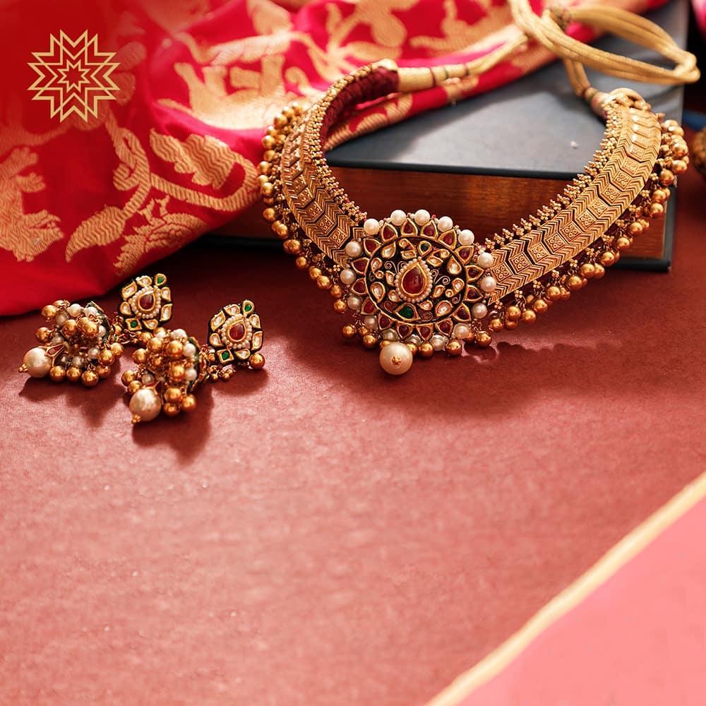 Ghungahruu Necklace design