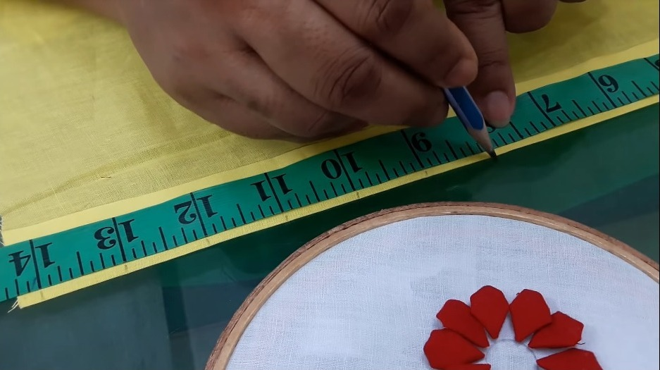 Hand Embroidery Style Stitch for Kurthi4