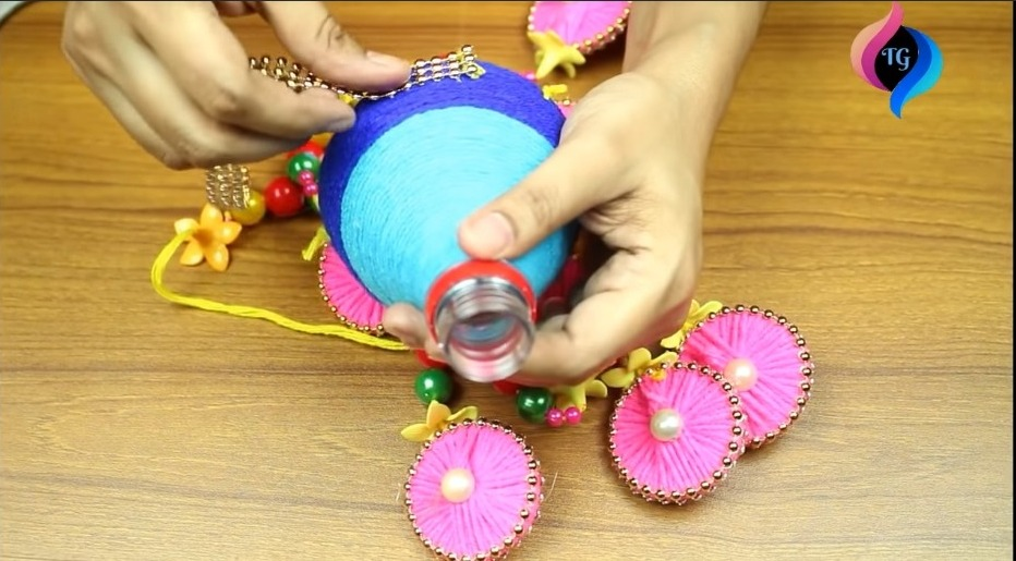Make Wind Chime with Recycled Materials9