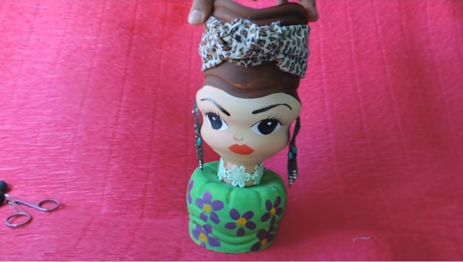 How to Make a Doll by Waste Products10