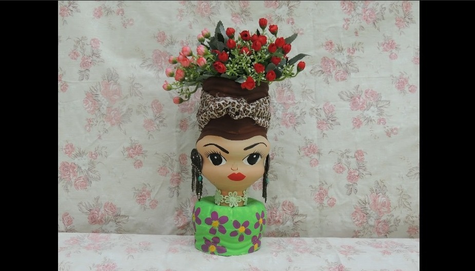 How to Make a Doll by Waste Products11