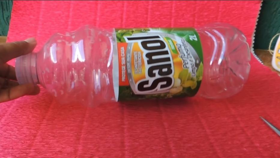craft from waste bottle