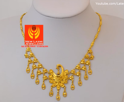 Light Weight Gold Necklace for Women Under 10 Grams12