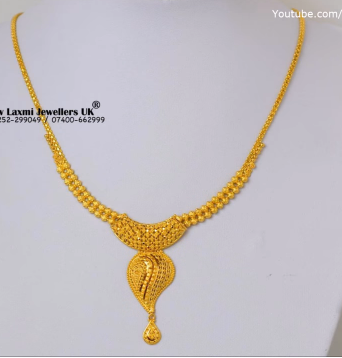 Light Weight Gold Necklace for Women Under 10 Grams6