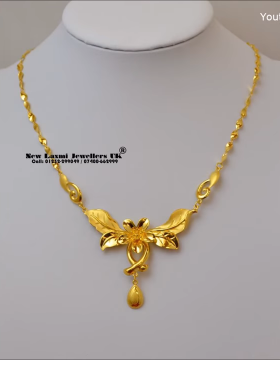 Light Weight Gold Necklace for Women Under 10 Grams9