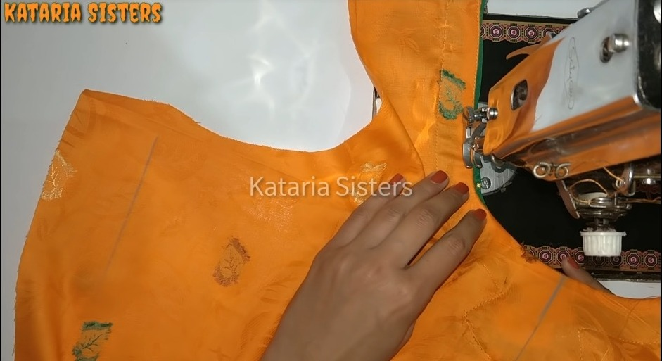 Matching Neck and Sleeves Potli Design22