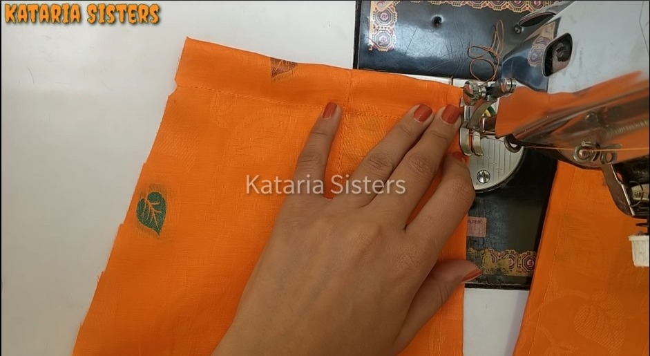 Matching Neck and Sleeves Potli Design7