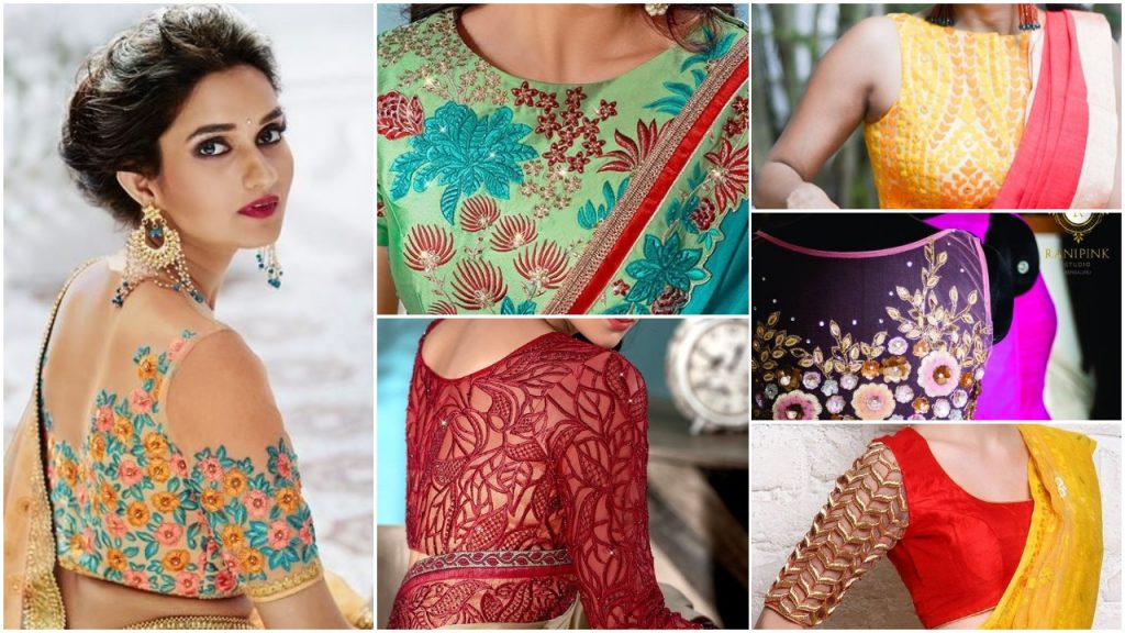 Blouse Embroidery Designs