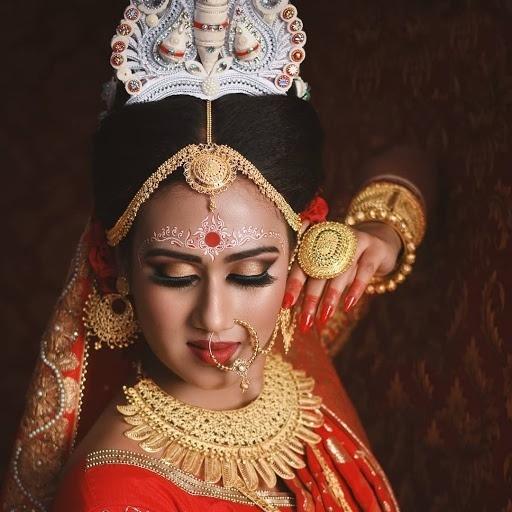 Bridal Gold Necklace Designs17