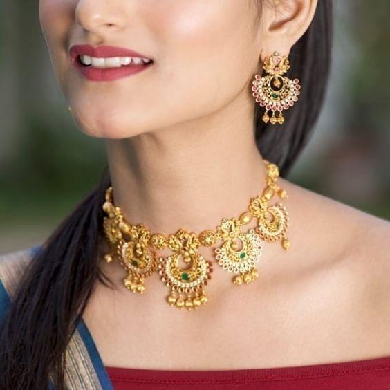 Bridal Gold Necklace Designs3