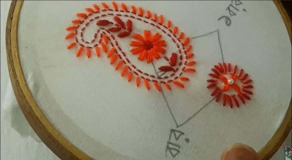 Hand Embroidery Phulkari Work Design for Kurti17