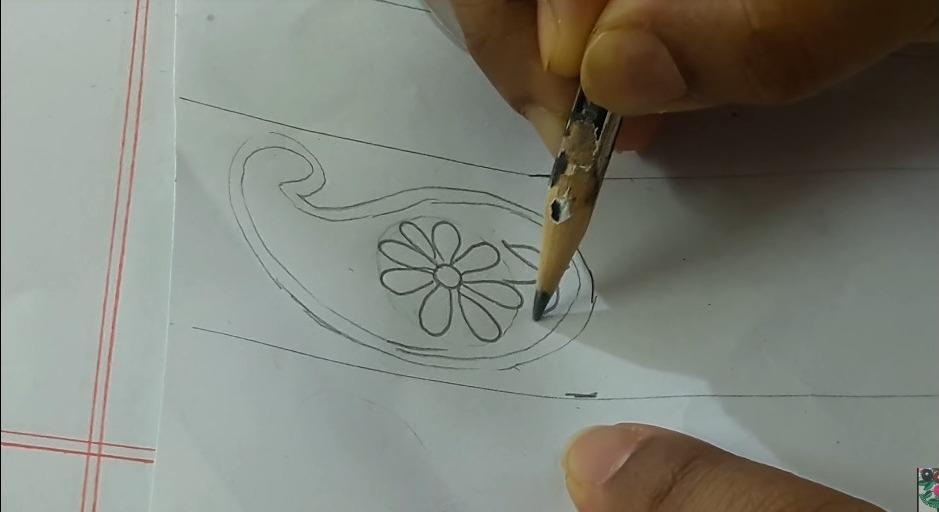 Hand Embroidery Phulkari Work Design for Kurti8