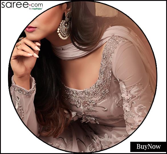 Broad Round neckline design