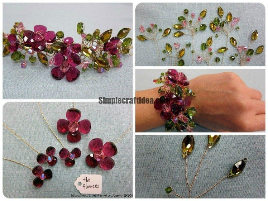 Very Cute Spring Bracelet t1